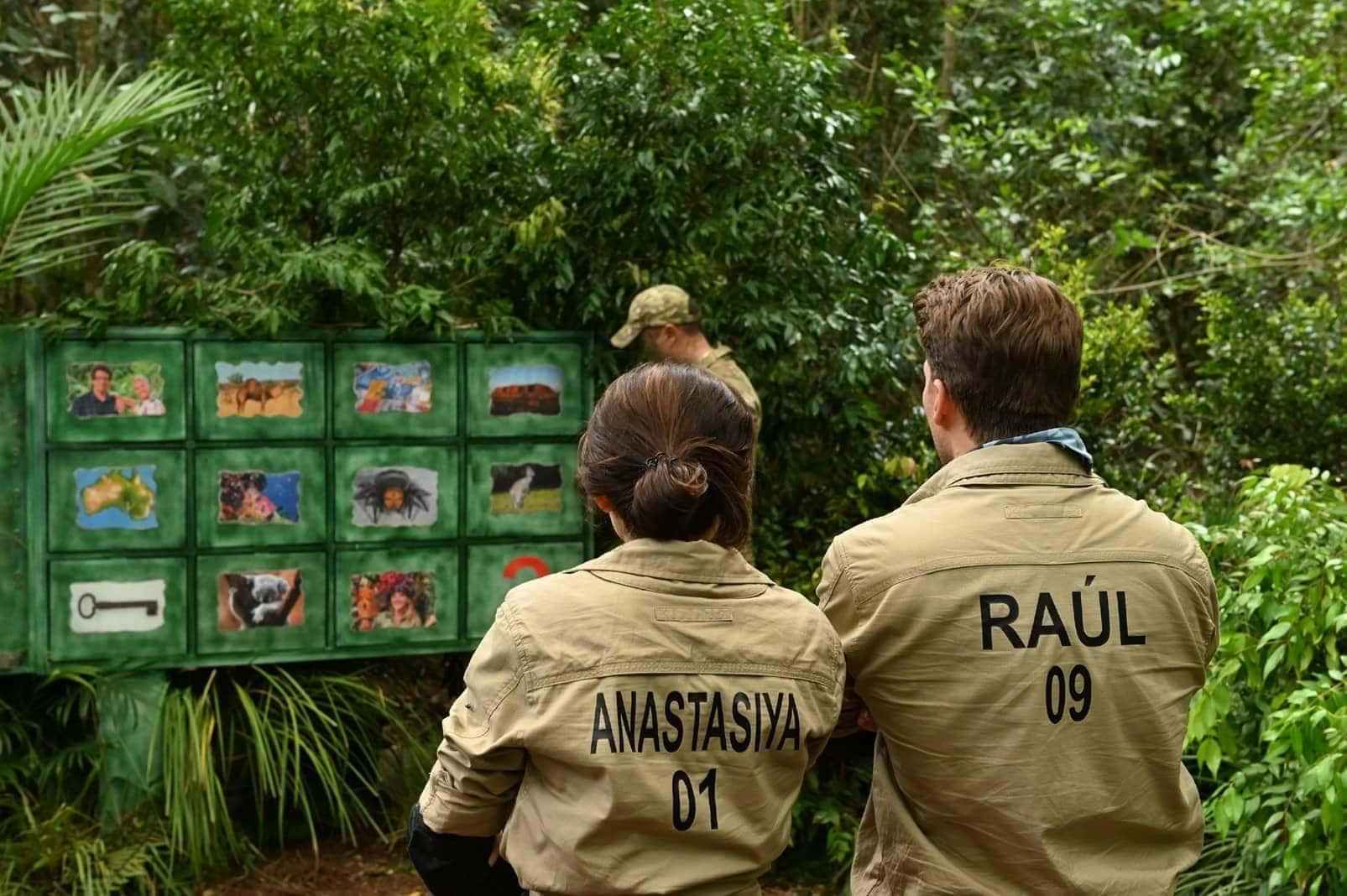 Dschungelcamp 2020 tag 5 Anastasiya Avilova Raul Richter