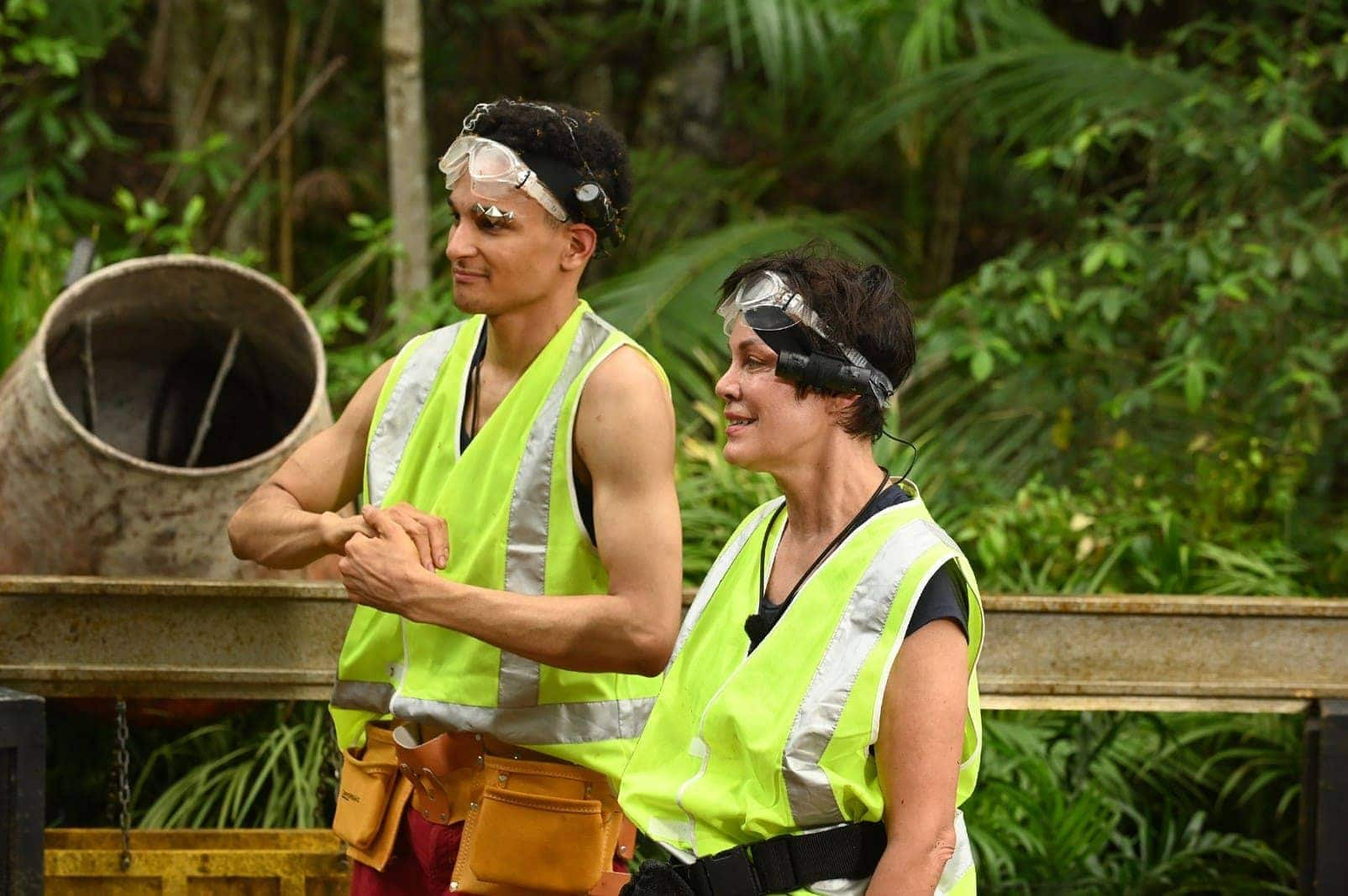 Dschungelcamp 2020 Tag 10 Dschungelprüfung Prince Damien Sonja Kirchberger