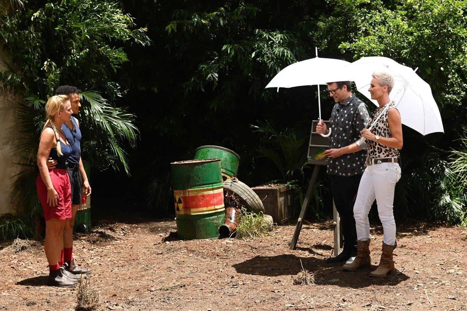 Dschungelcamp Prüfung Würg-Stoffcenter