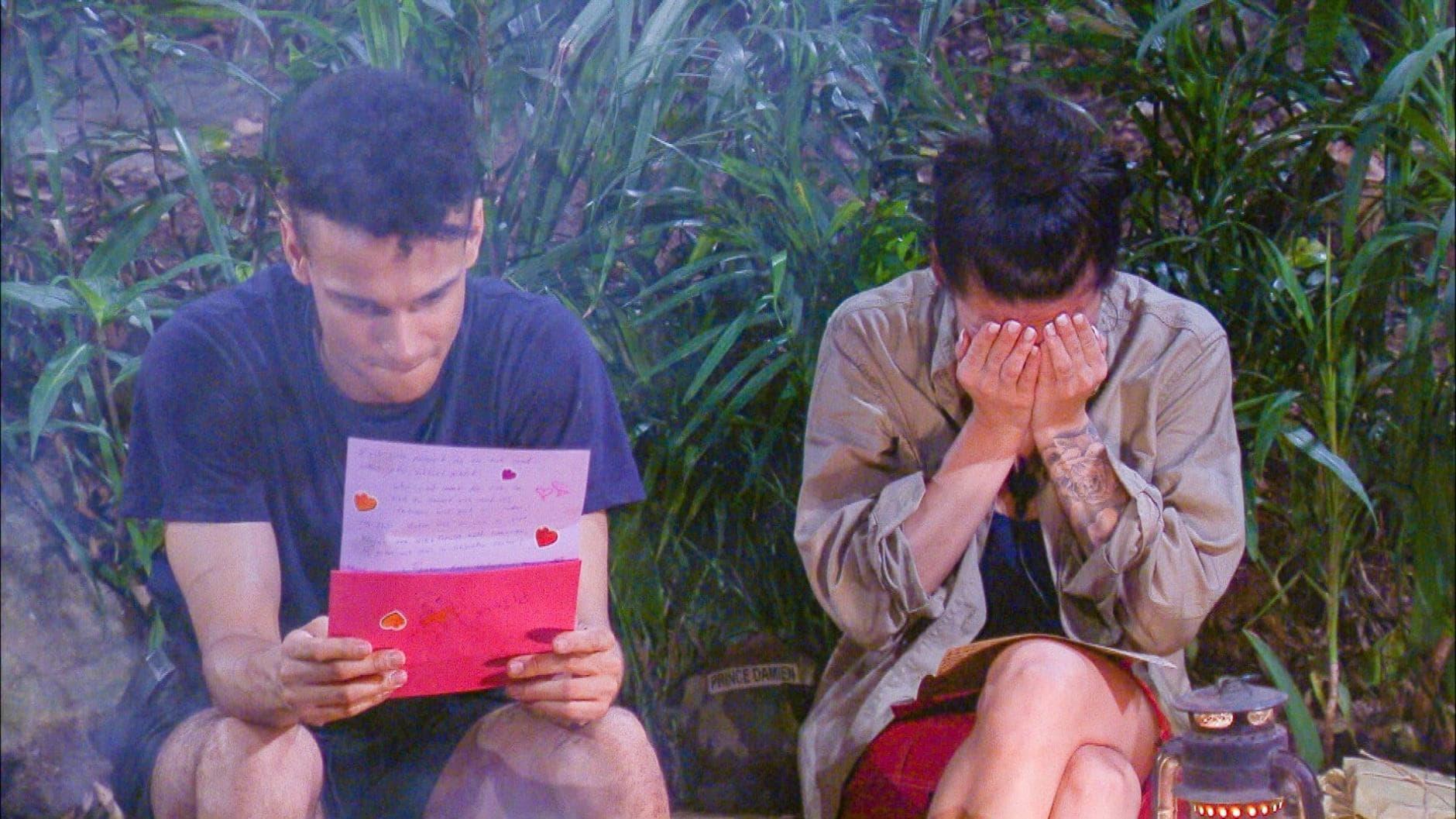 Dschungelcamp IBES Briefe der Liebsten