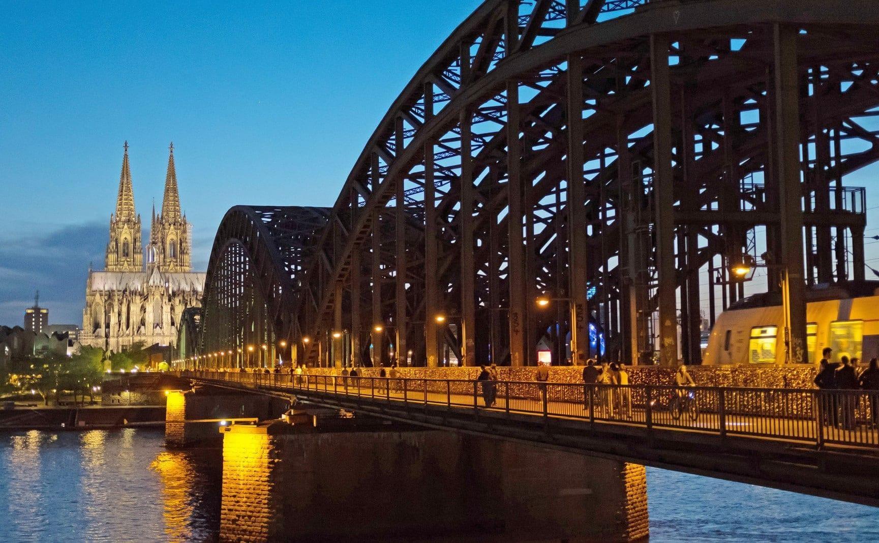 Bombenfund Köln Deutz