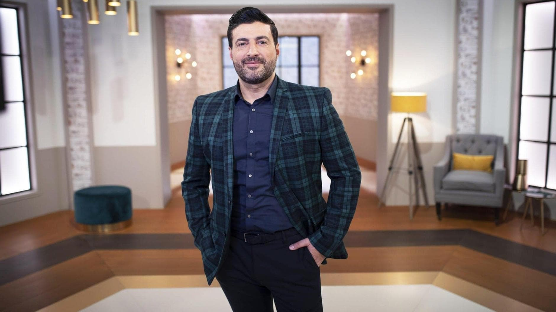 Moderator Sükrü Pehlivan