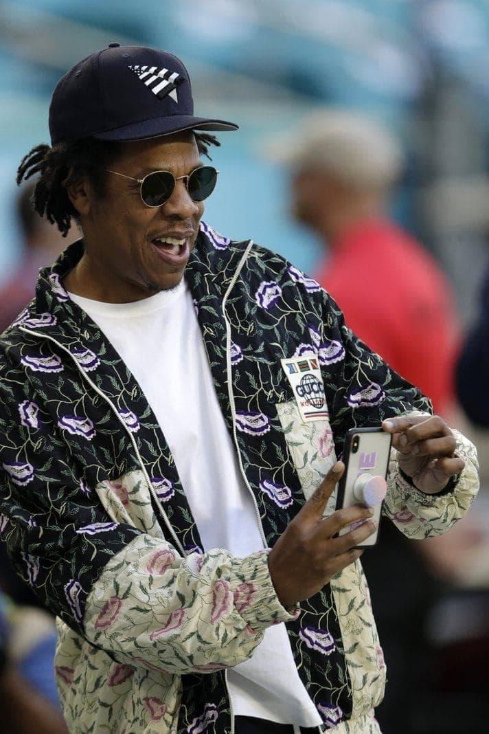 Jay-Z beim Super Bowl 2020