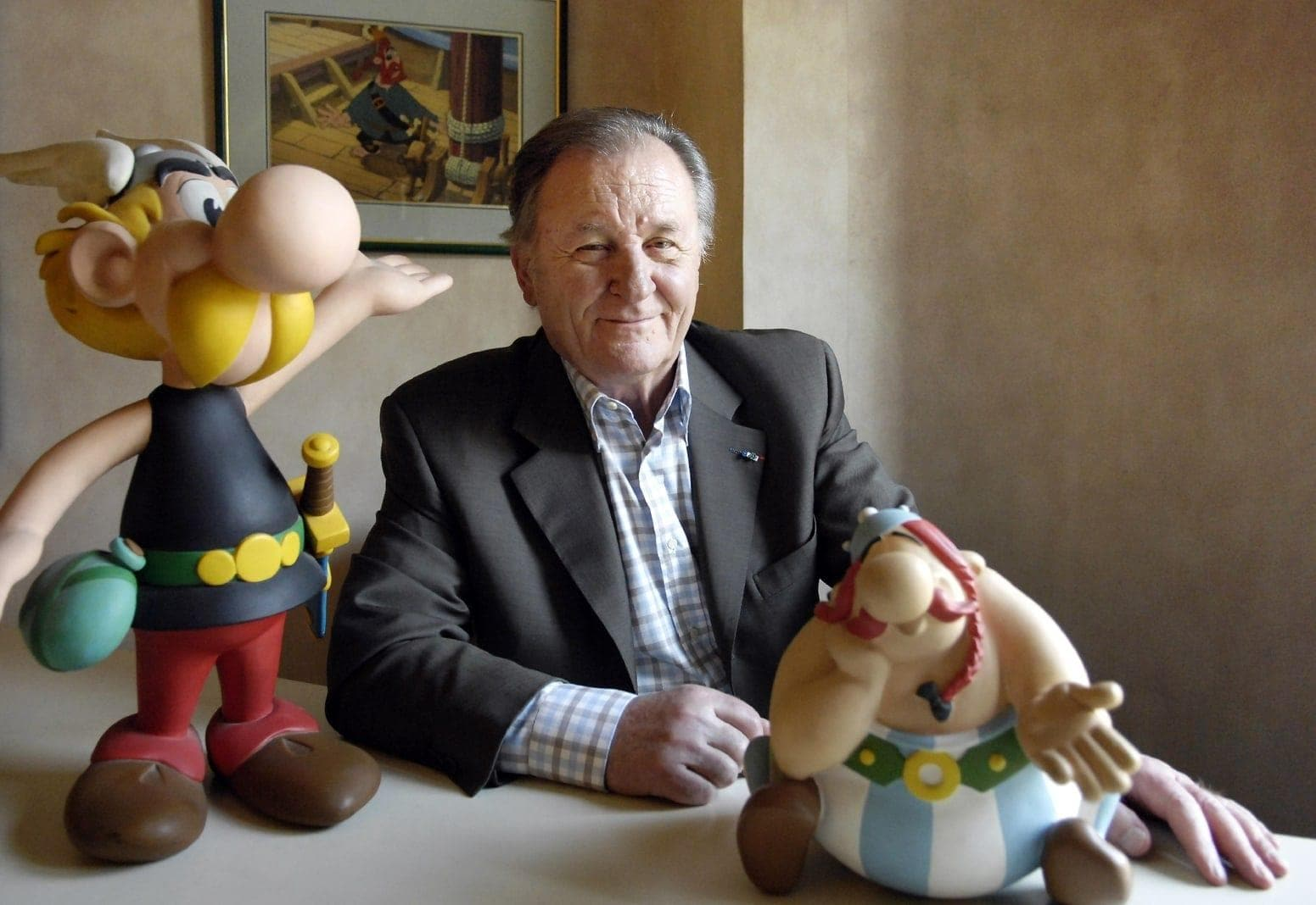 Illustrator Albert Uderzo