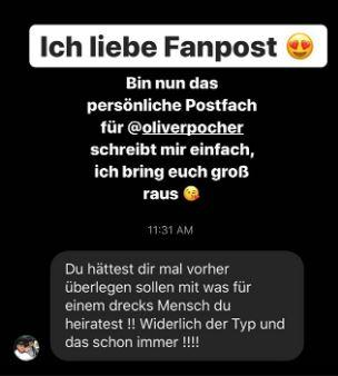 Amira Pocher Instagram-Story Kritik
