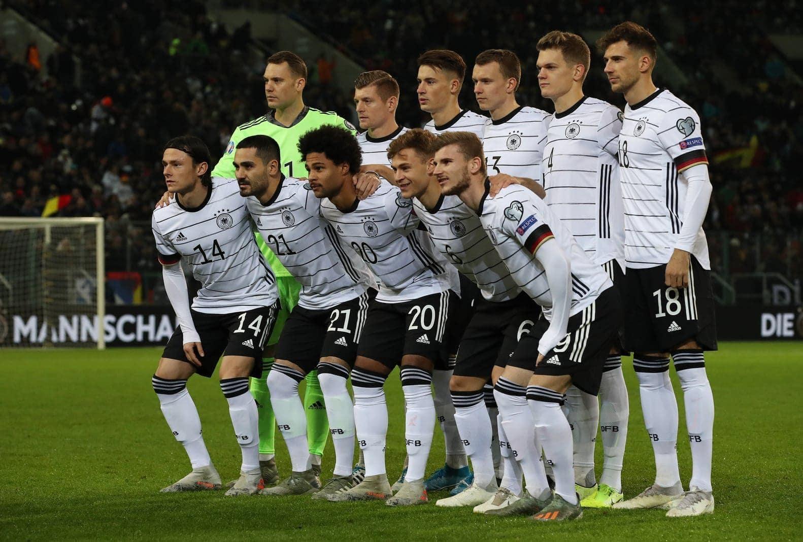 Deutsche Nationalmannschaft 2020 Spieler