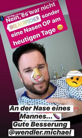 Michael Wendler Nasen OP Oliver Pocher Reaktion