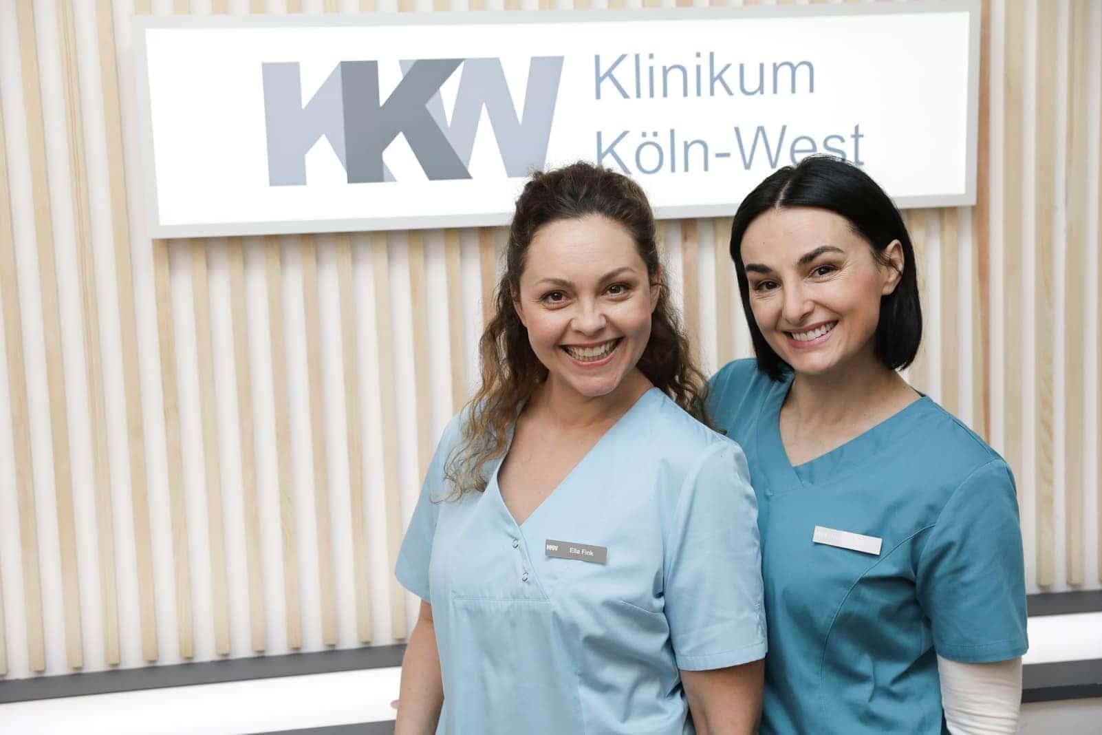 Ines Quermann und Mimi Fiedler RTL Nachtschwestern