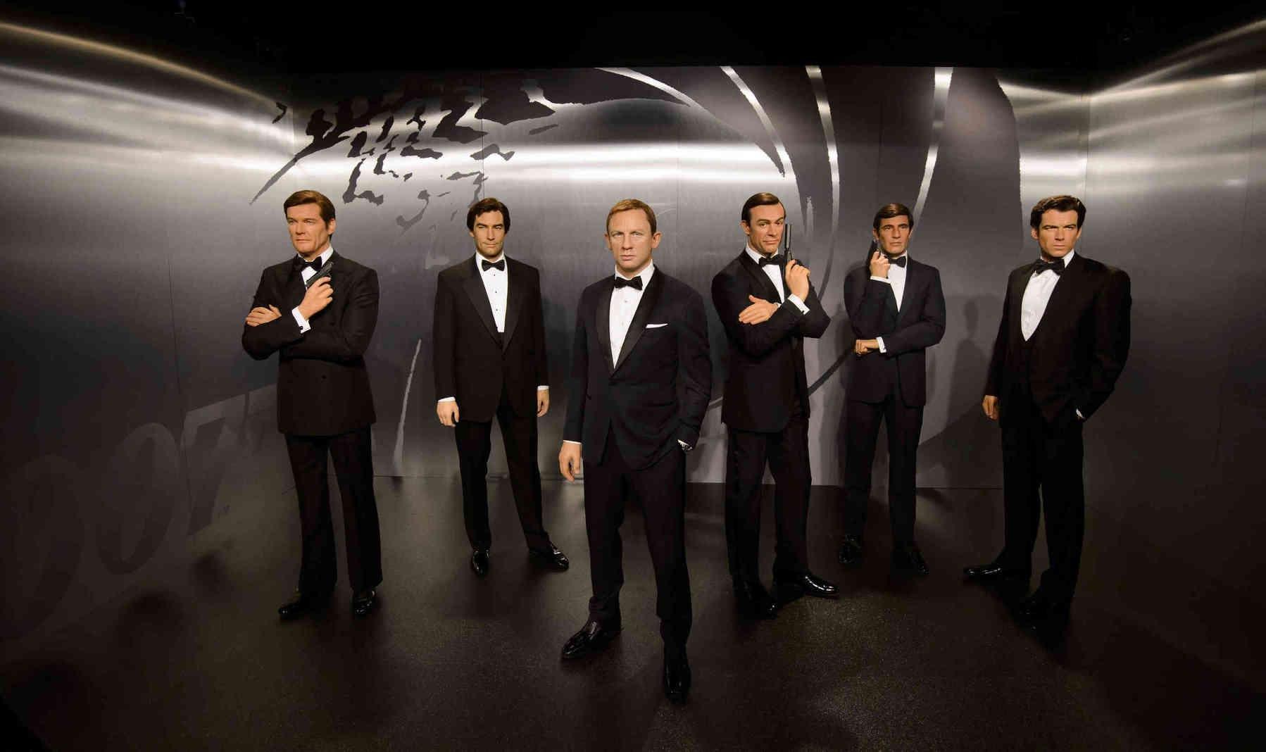 James Bond Schauspieler Liste