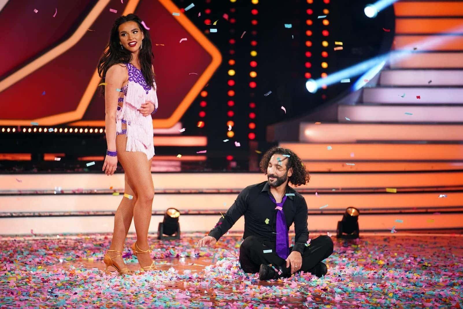 Let's Dance 2020 Lili Paul-Roncalli Massimo Sinato