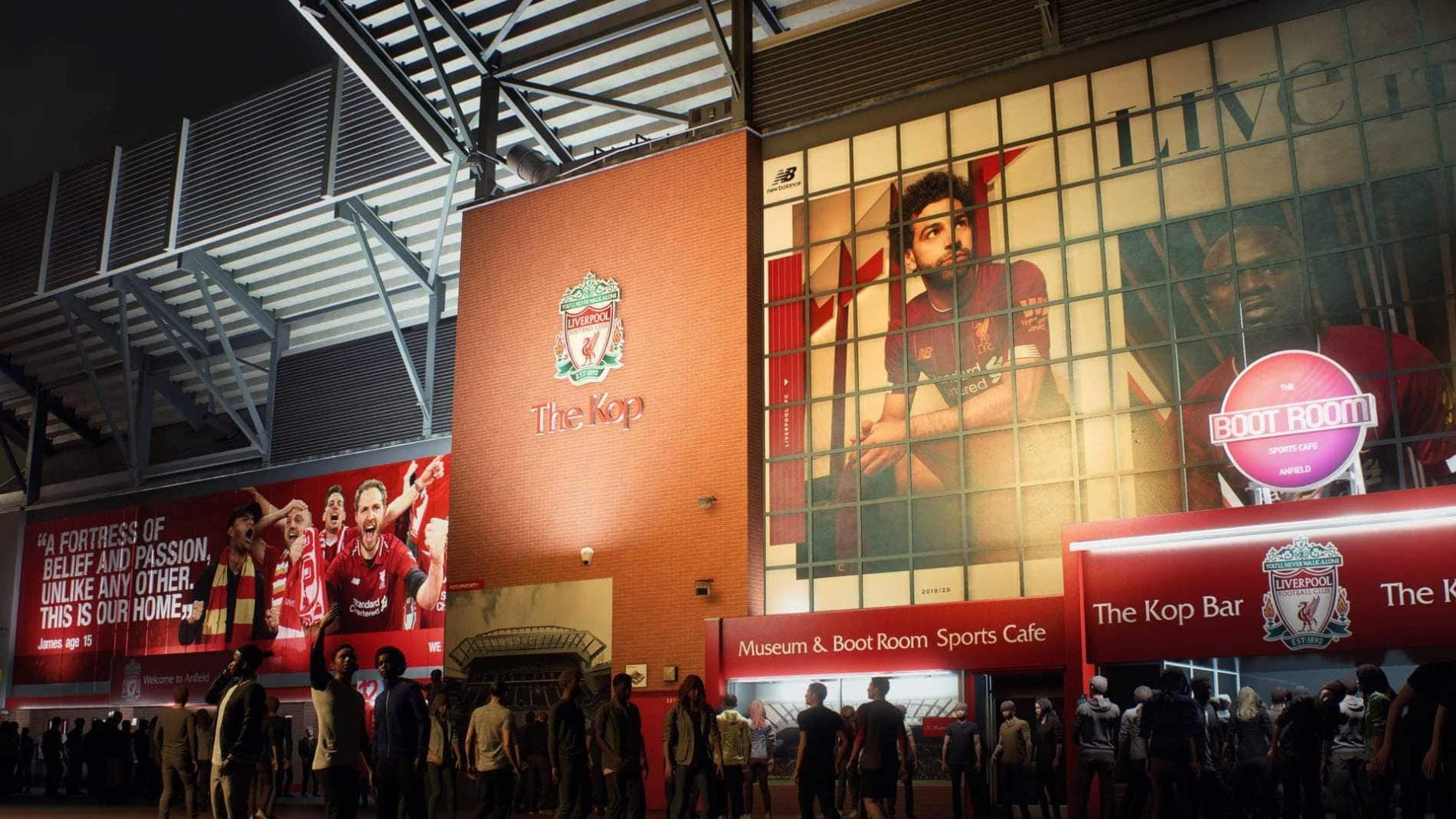 FIFA 21 Liverpool Anfield The Kop