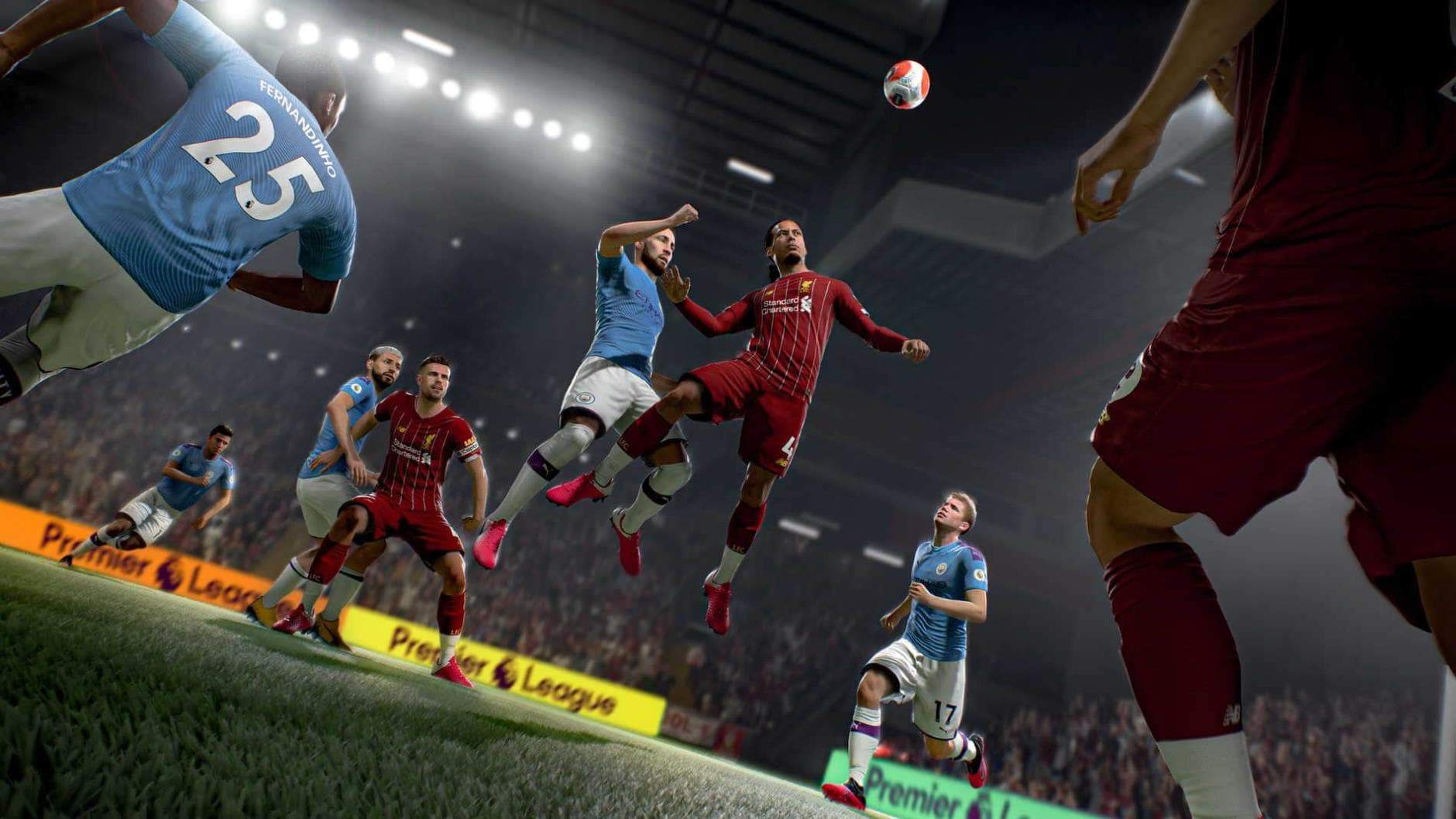 FIFA 21 Liverpool Manchester City BS