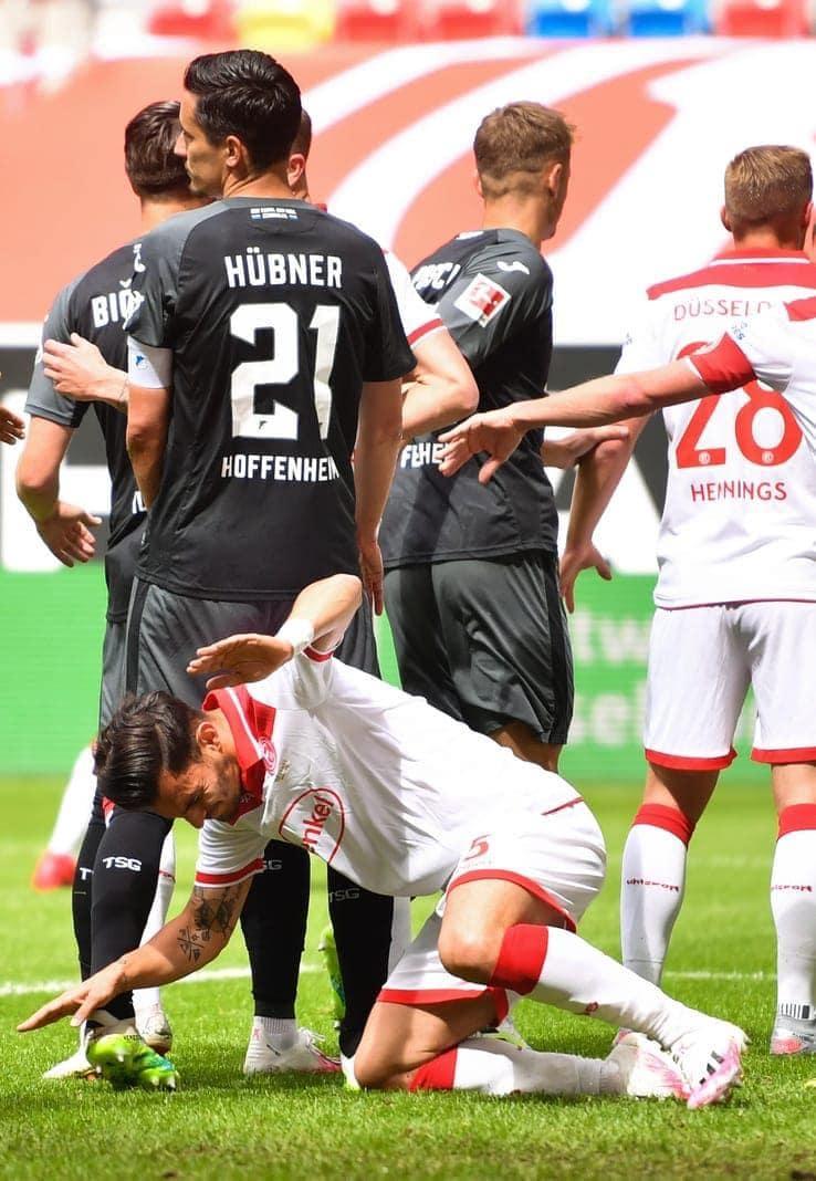 Fortuna Düsseldorf - 1899 Hoffenheim Kaan Ayhan Benjamin Hübner