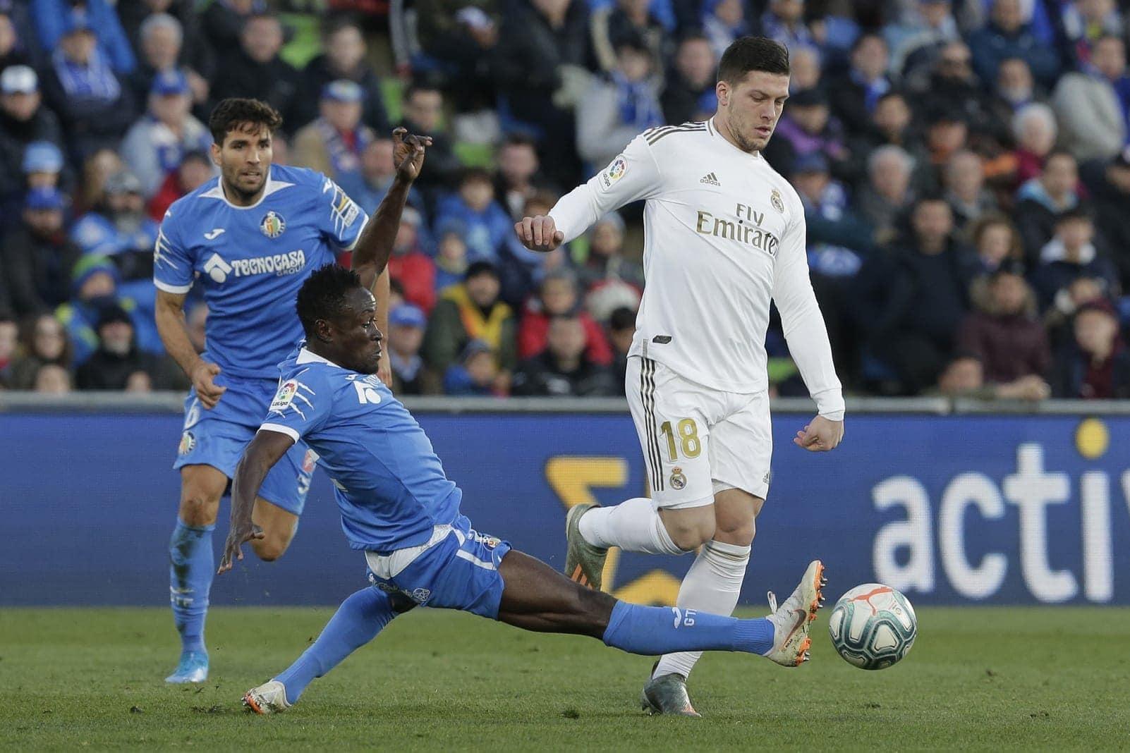 Luka Jovic Eintracht Frankfurt Real Madrid