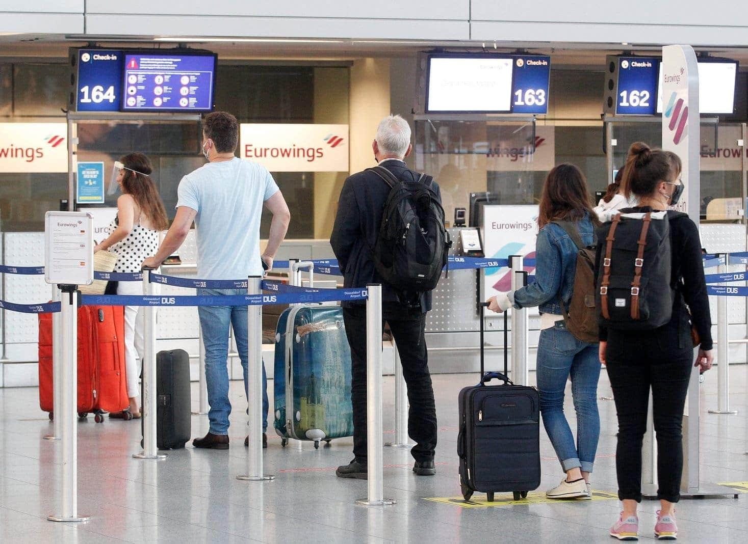Corona Test Flughafen Düsseldorf