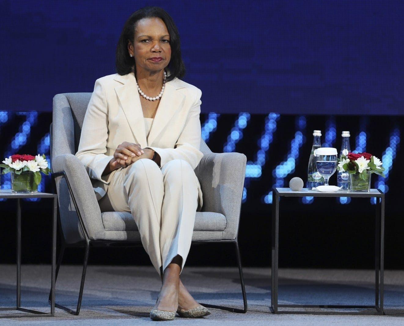Condoleezza Rice für BS