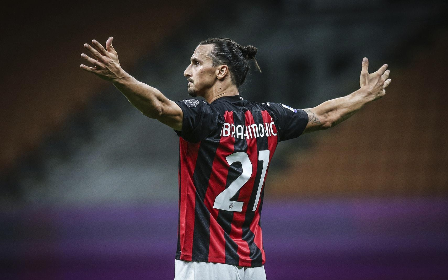 Zlatan Ibrahimovic AC Mailand