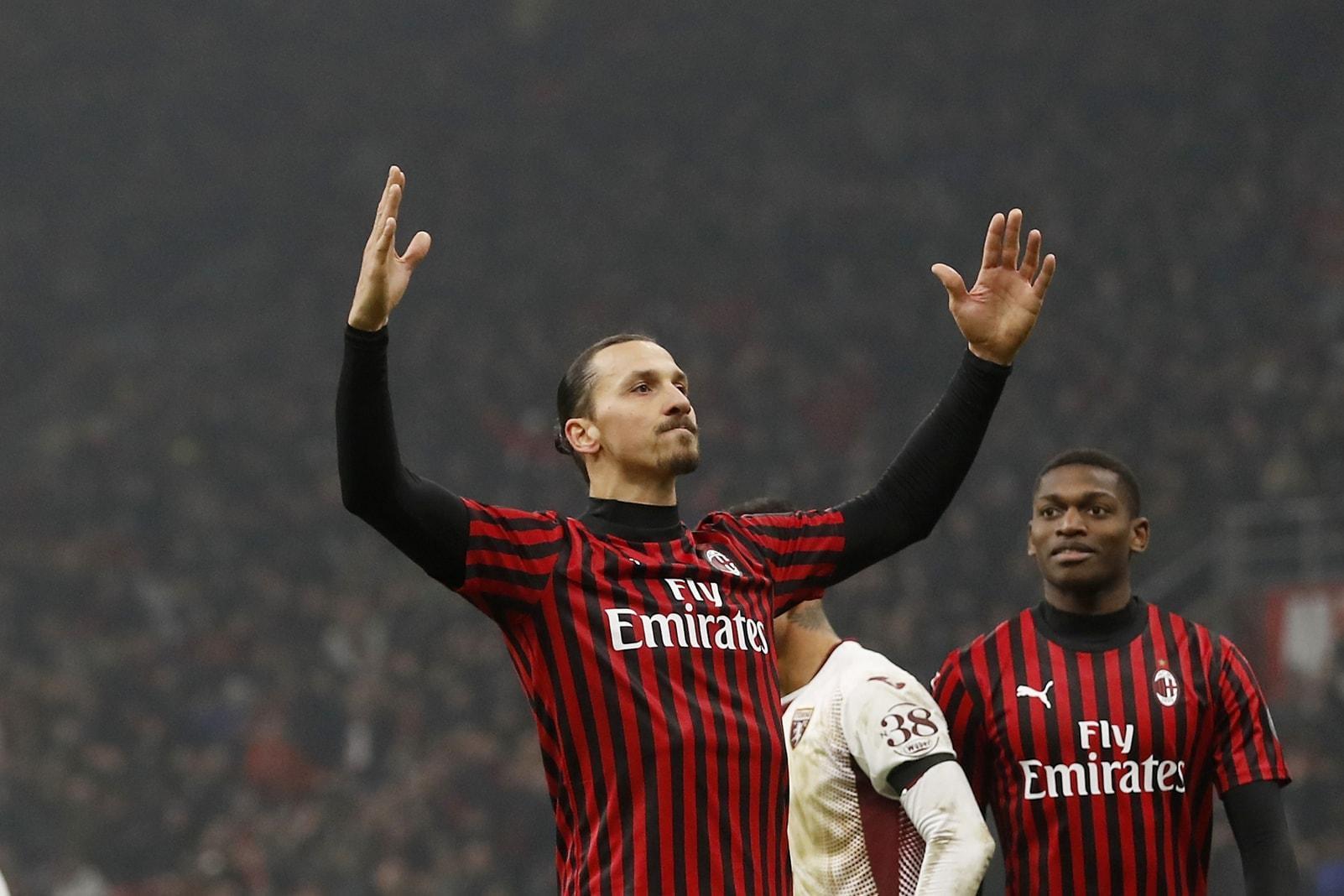 Zlatan Ibrahimovic AC Mailand 10