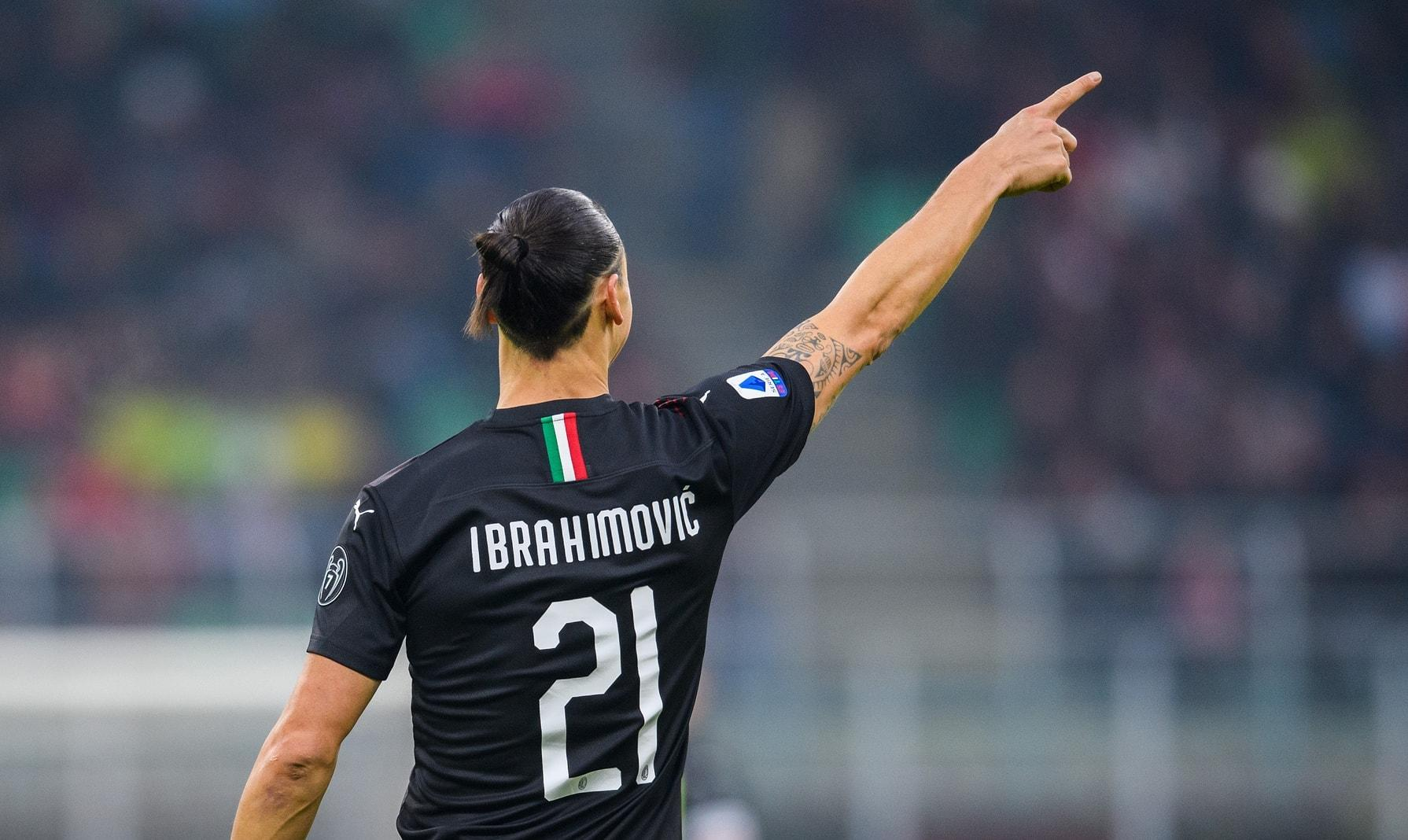 Zlatan Ibrahimovic AC Mailand 14