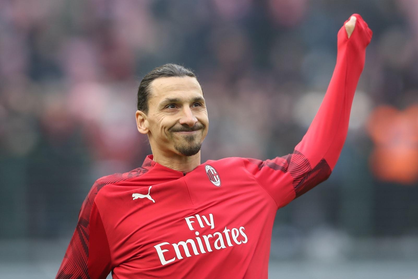 Zlatan Ibrahimovic AC Mailand 18