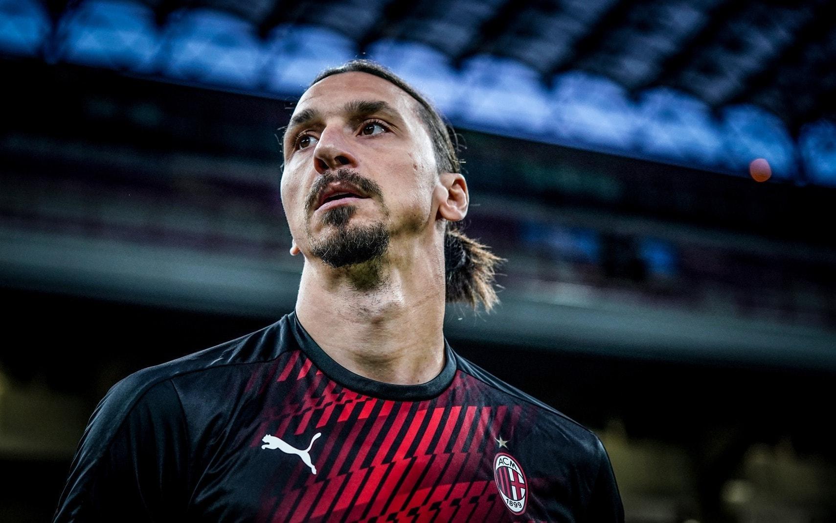 Zlatan Ibrahimovic AC Mailand 2