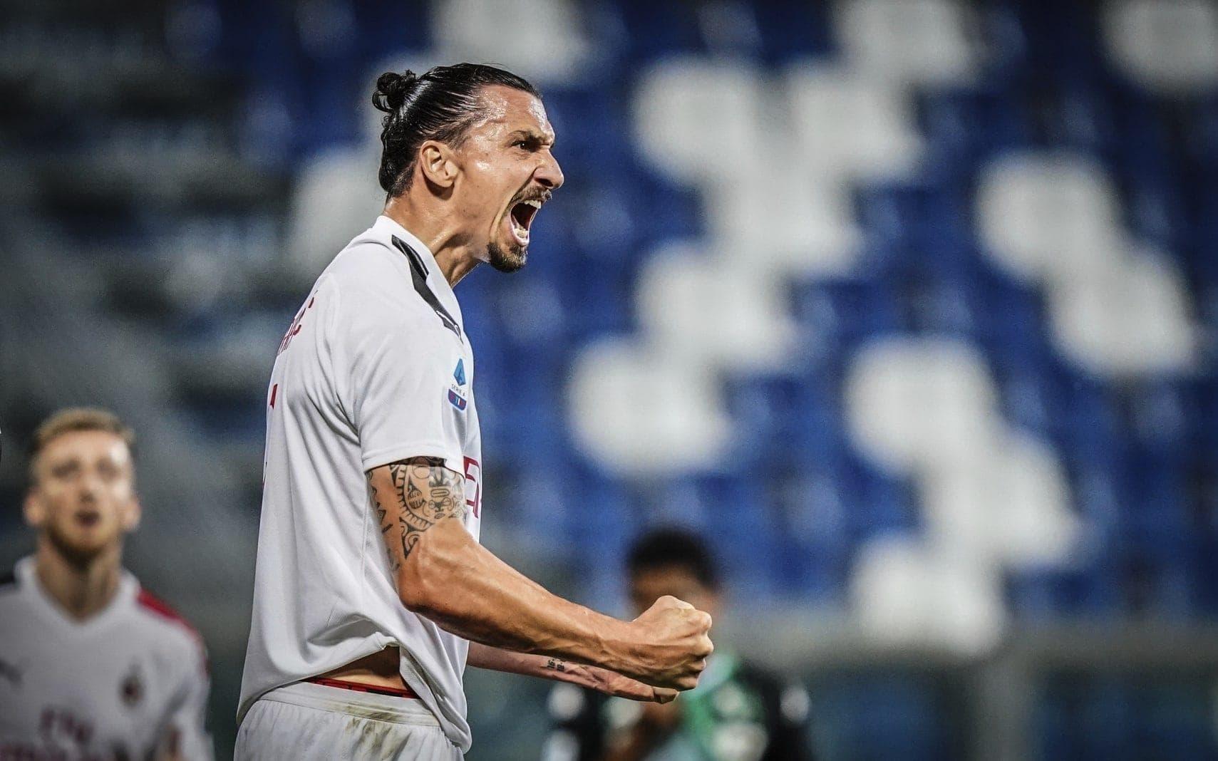 Zlatan Ibrahimovic AC Mailand 3