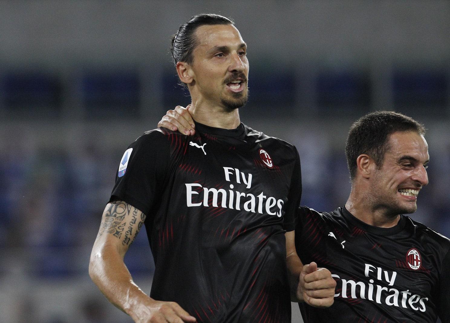 Zlatan Ibrahimovic AC Mailand 5