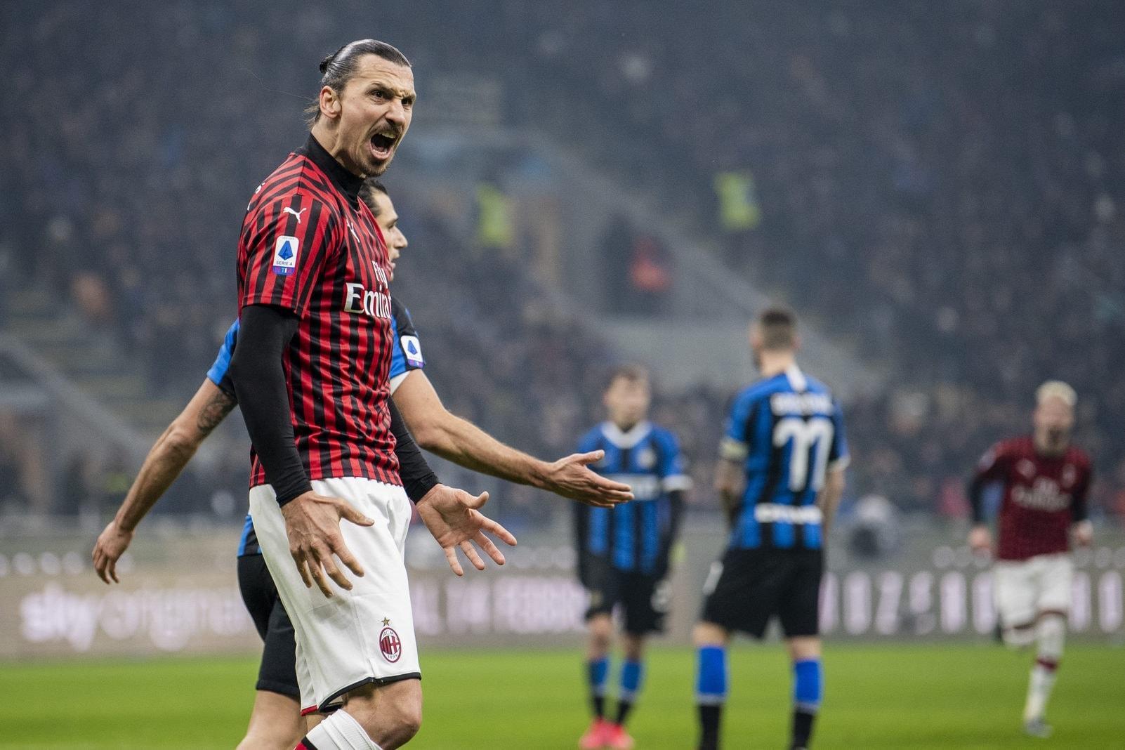 Zlatan Ibrahimovic AC Mailand 9