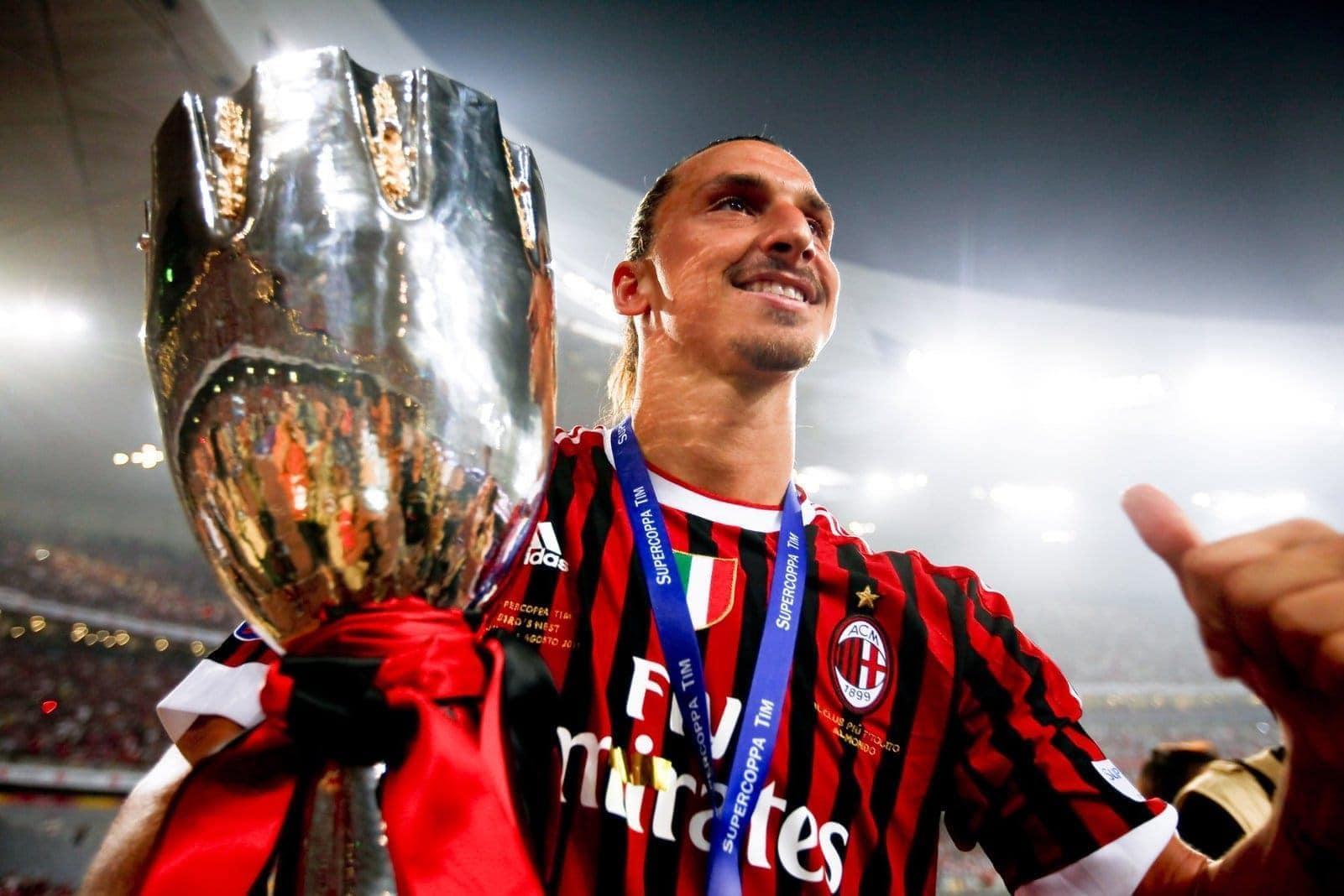 Zlatan Ibrahimovic AC Mailand Supercup