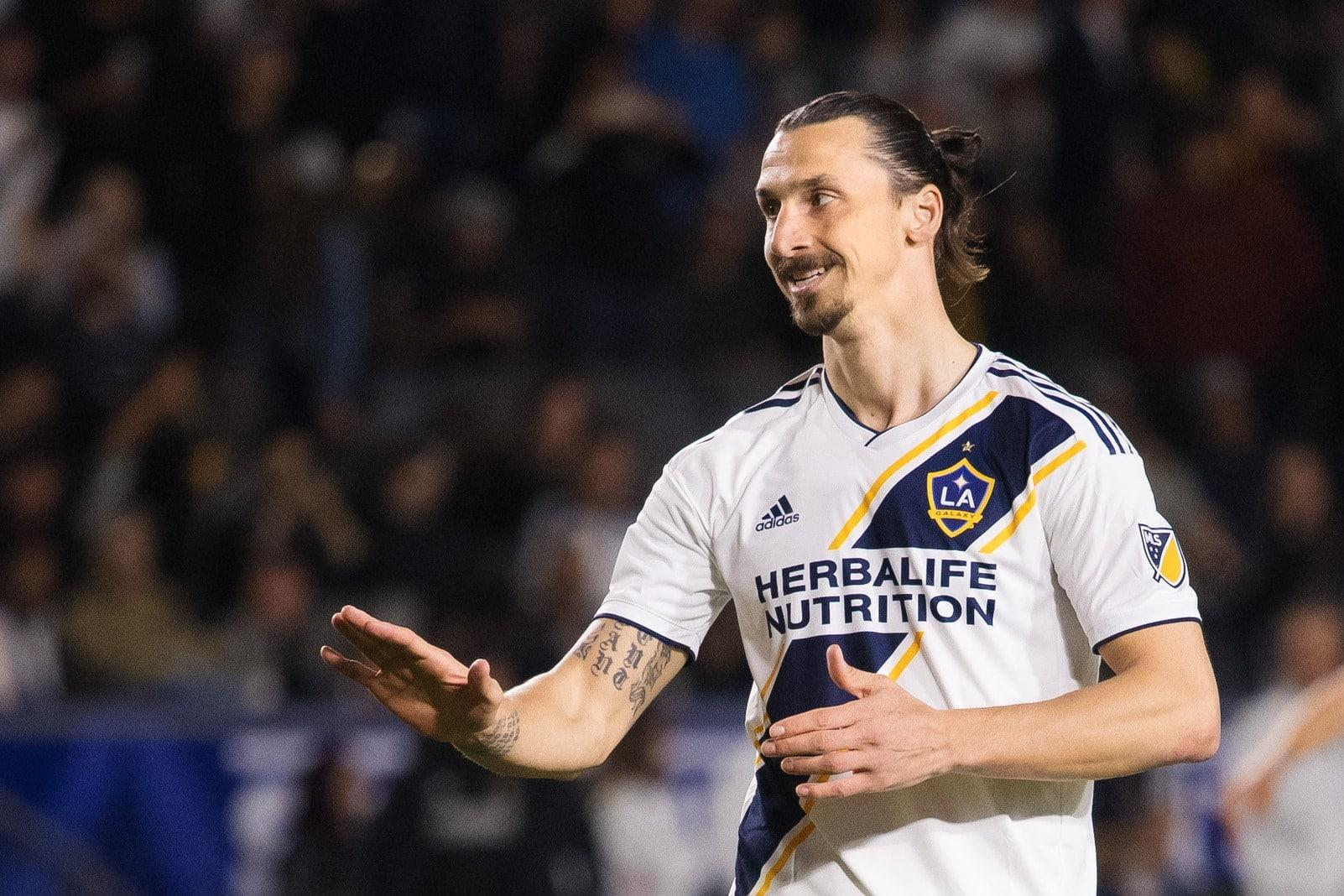 Zlatan Ibrahimovic Los Angeles LA Galaxy