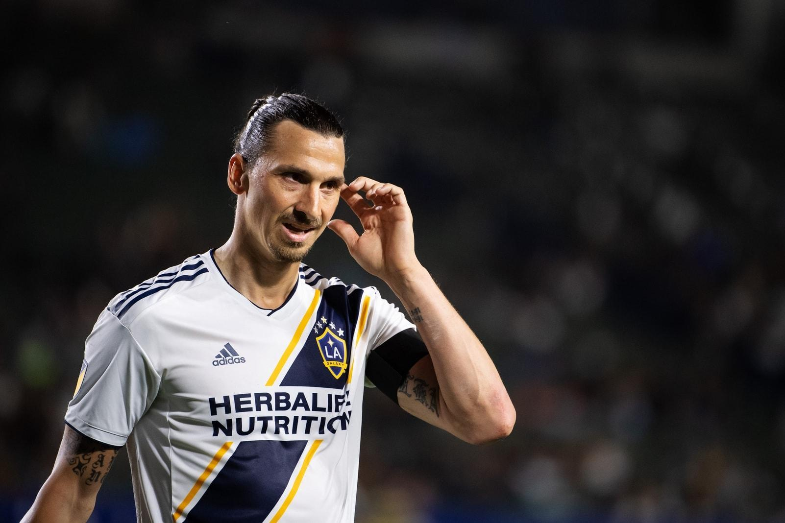 Zlatan Ibrahimovic Los Angeles LA Galaxy 2