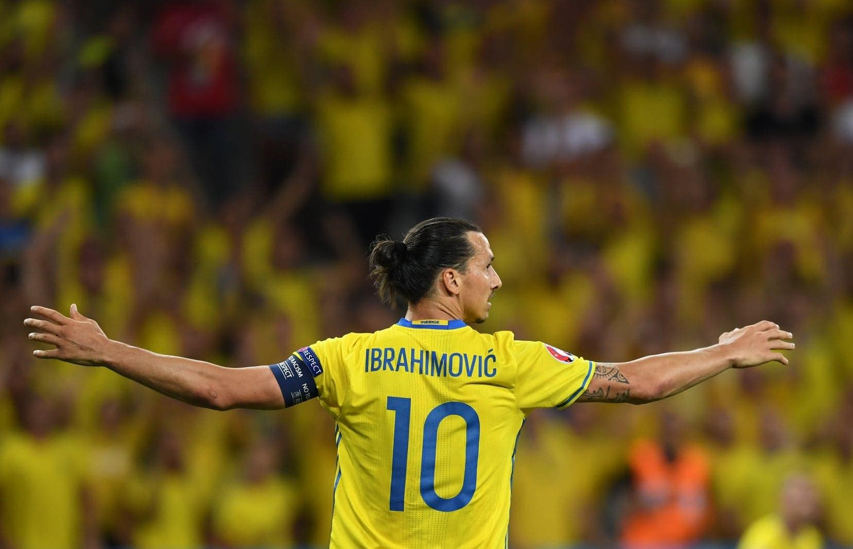 Zlatan Ibrahimovic Schweden Euro 2016