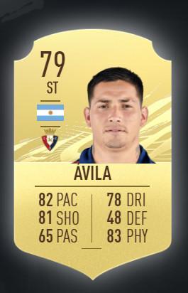 Ezequiel Avila CA Osasuna FIFA 21