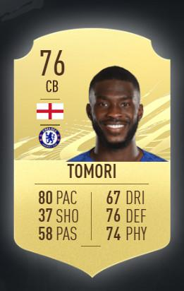Fikayo Tomori FC Chelsea FIFA 21