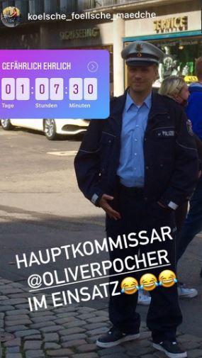Oliver Pocher Polizist