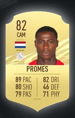 Quincy Promes Ajax Amsterdam FIFA 21