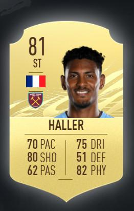 Sebastien Haller West Ham United FIFA 21