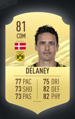 Thomas Delaney Borussia Dortmund FIFA 21