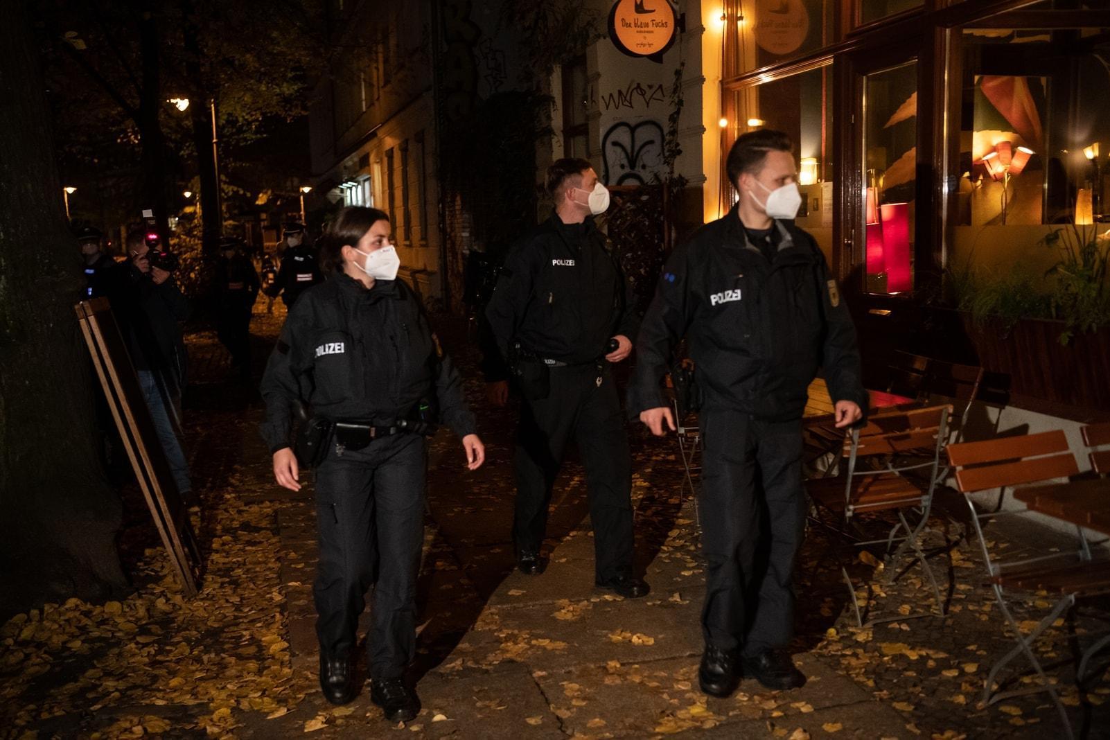 Berliner Polizei Party