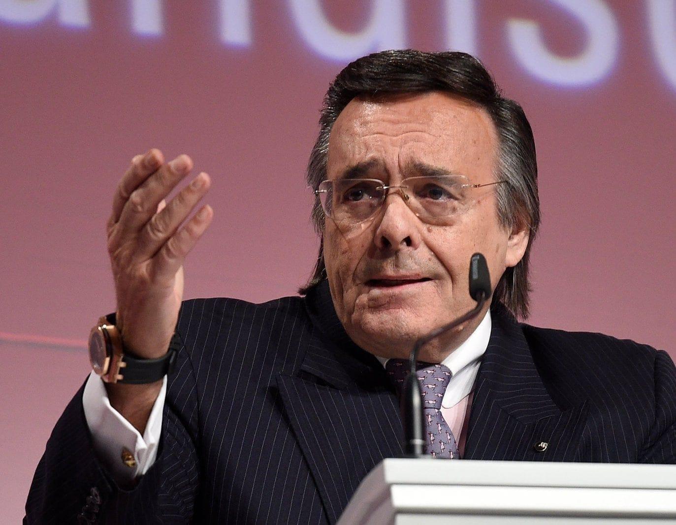 Mittelstandspräsident Mario Ohoven stirbt bei Verkehrsunfall