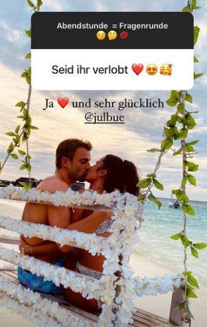 Sarah Lombardi Julian Büscher verlobt