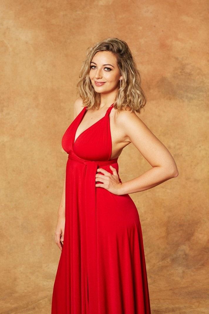 Der Bachelor Hannah Kleid