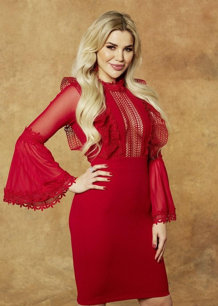 Der Bachelor Kim Virginia Kleid