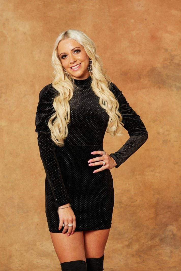 Der Bachelor Melissa Kleid