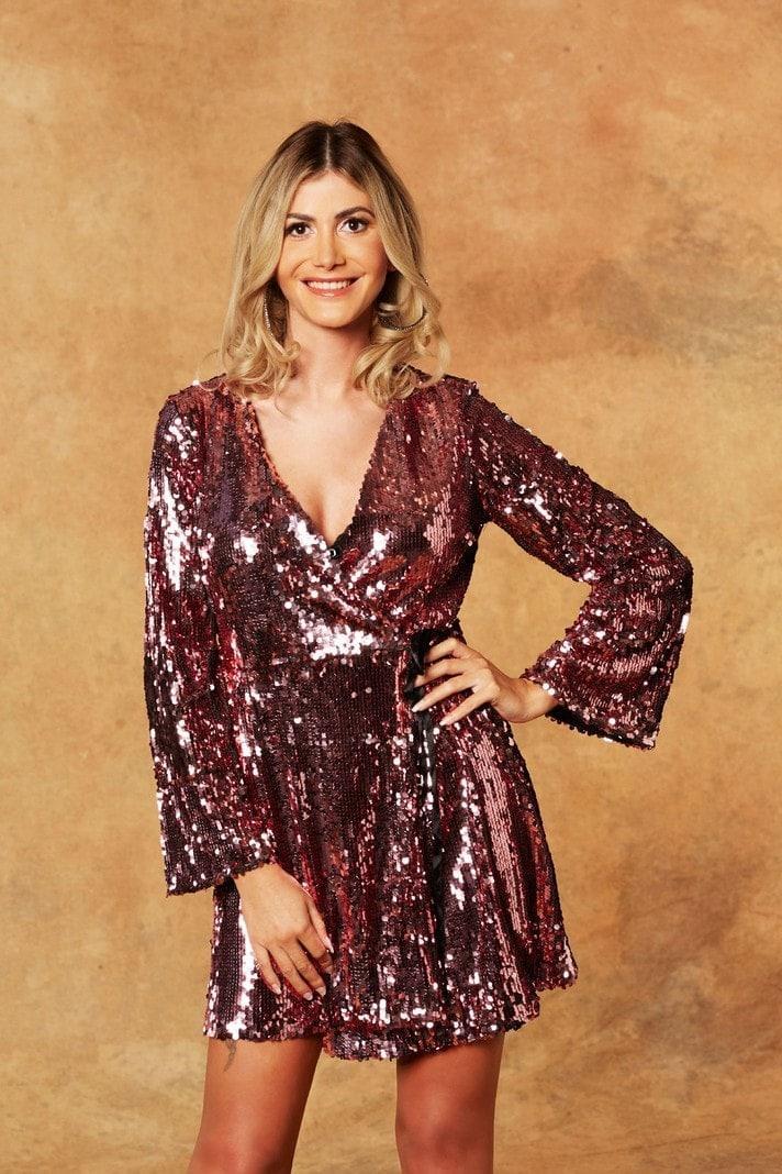 Der Bachelor Stephie Kleid