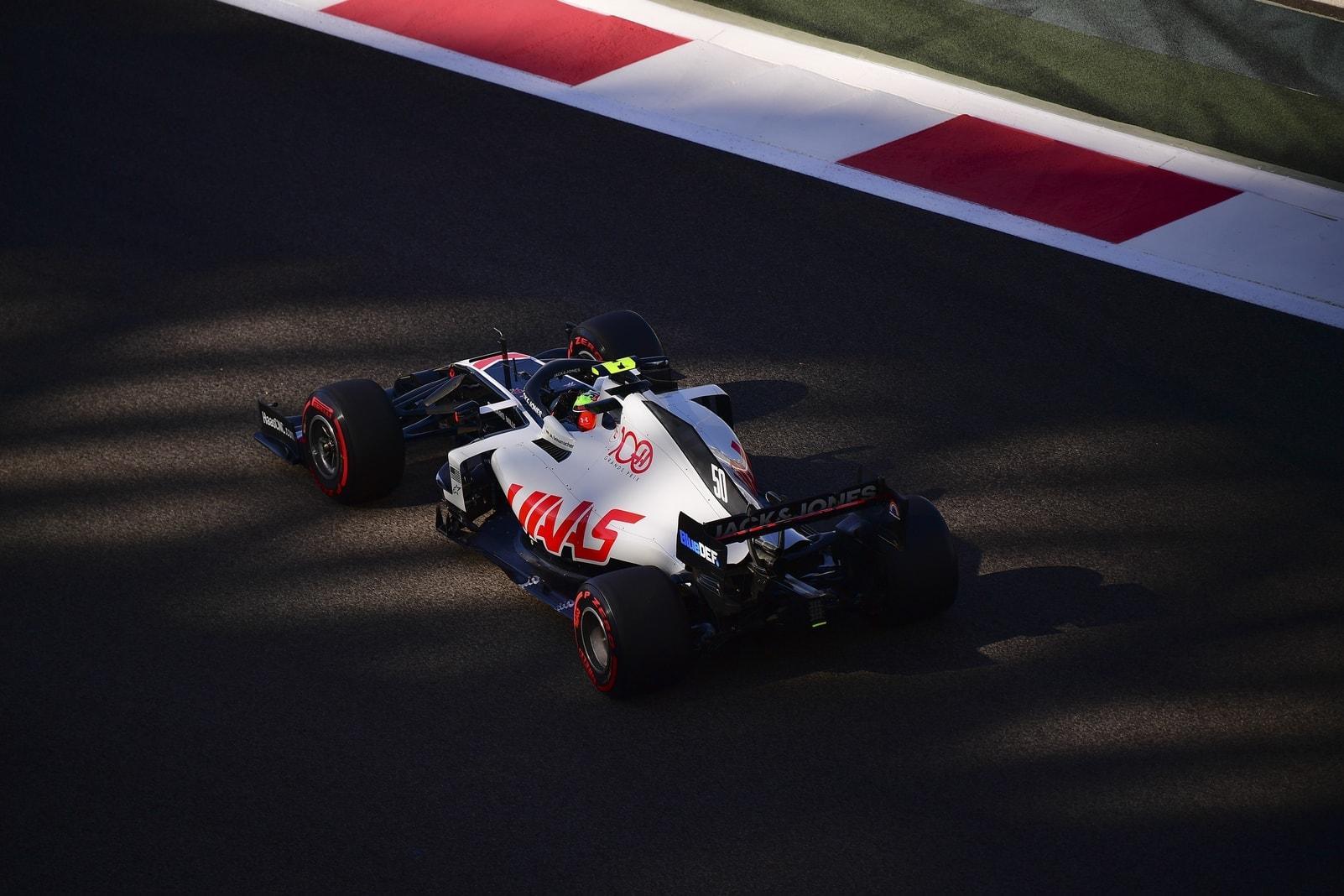 Mick Schumacher Formel 1-Debüt Haas Abu Dhabi