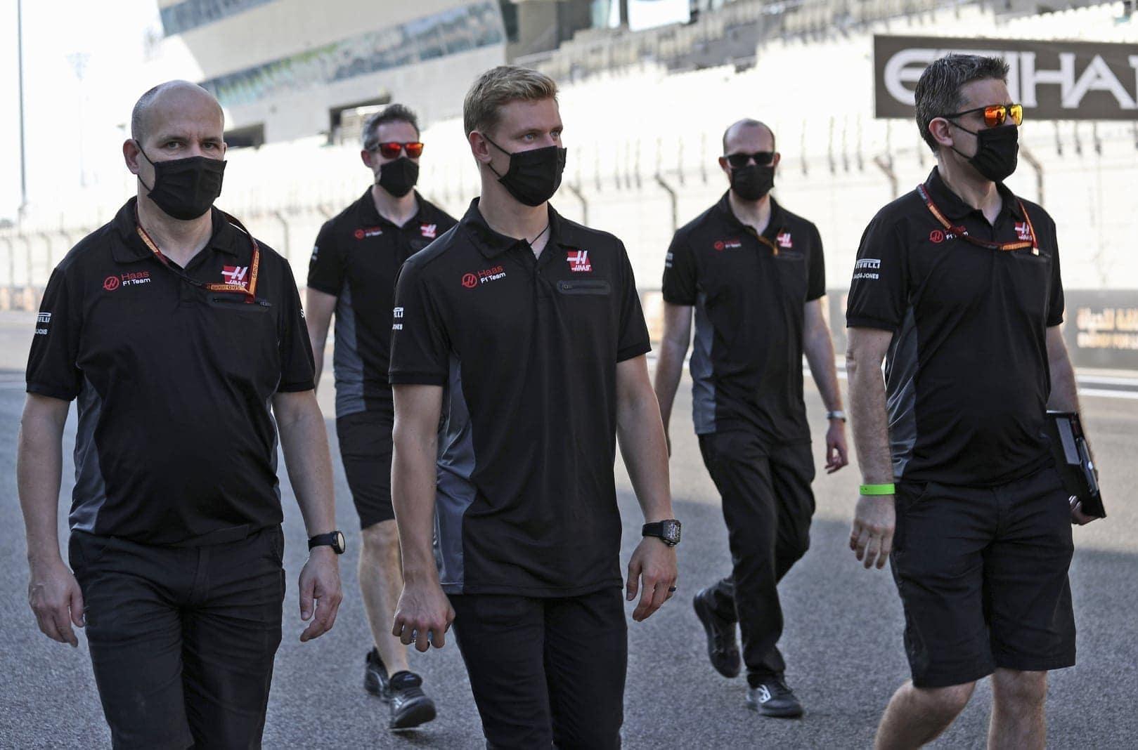 Mick Schumacher Formel 1-Debüt Haas Abu Dhabi 10