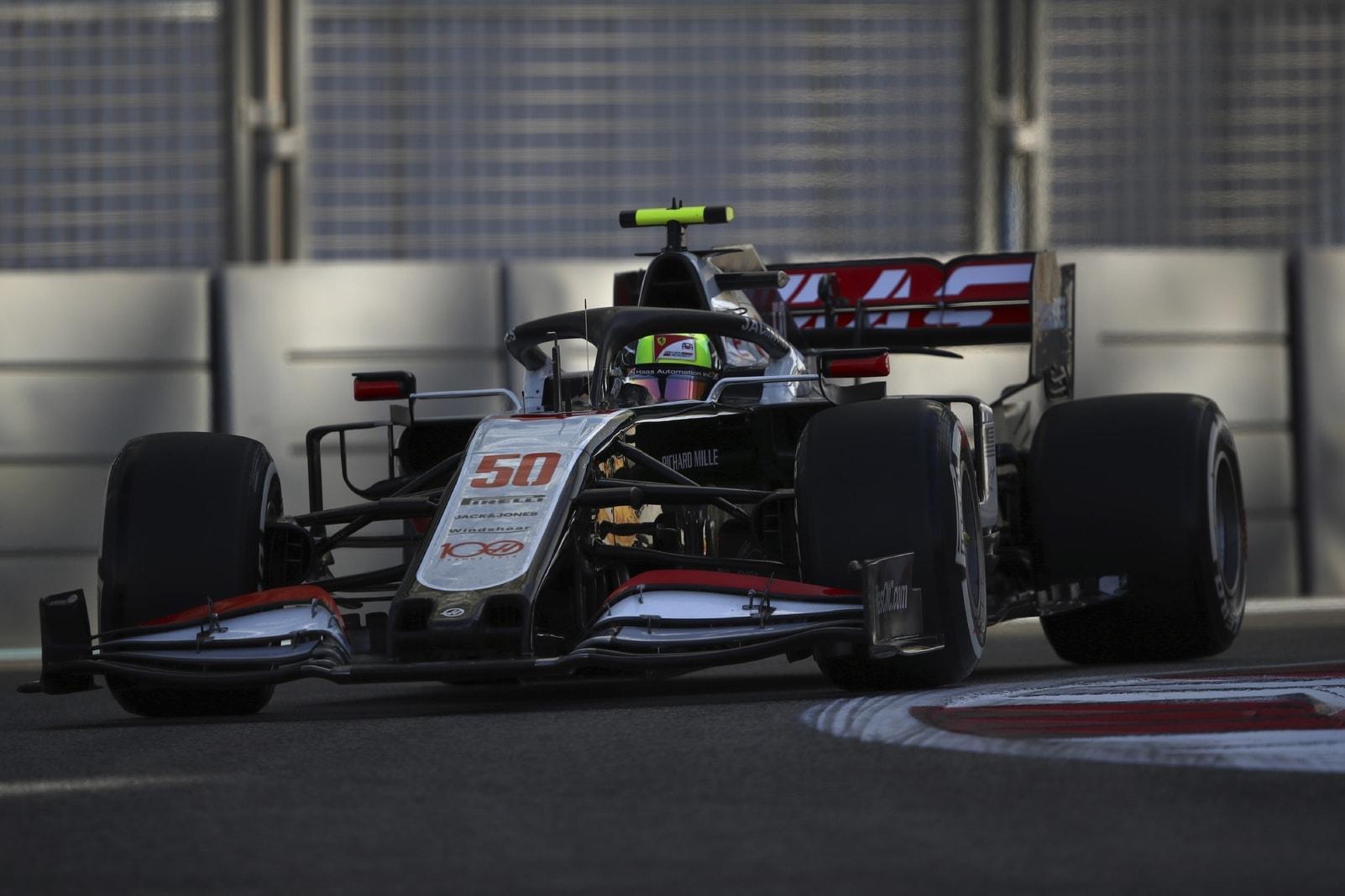 Mick Schumacher Formel 1-Debüt Haas Abu Dhabi 3