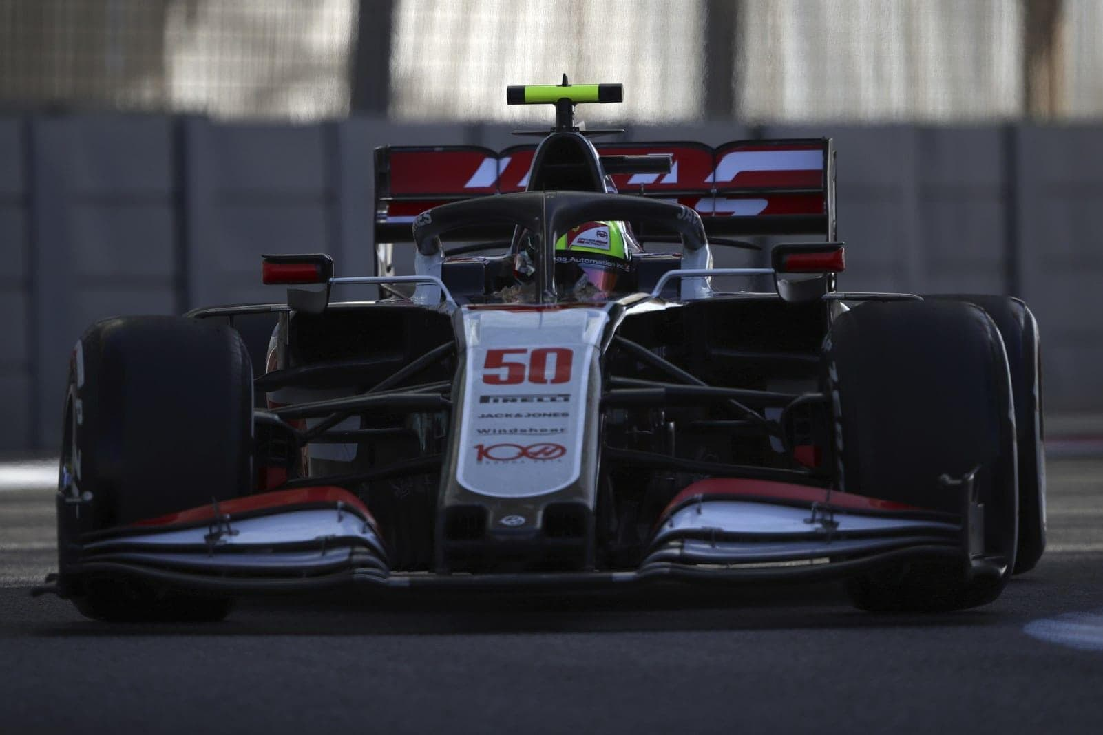 Mick Schumacher Formel 1-Debüt Haas Abu Dhabi 5