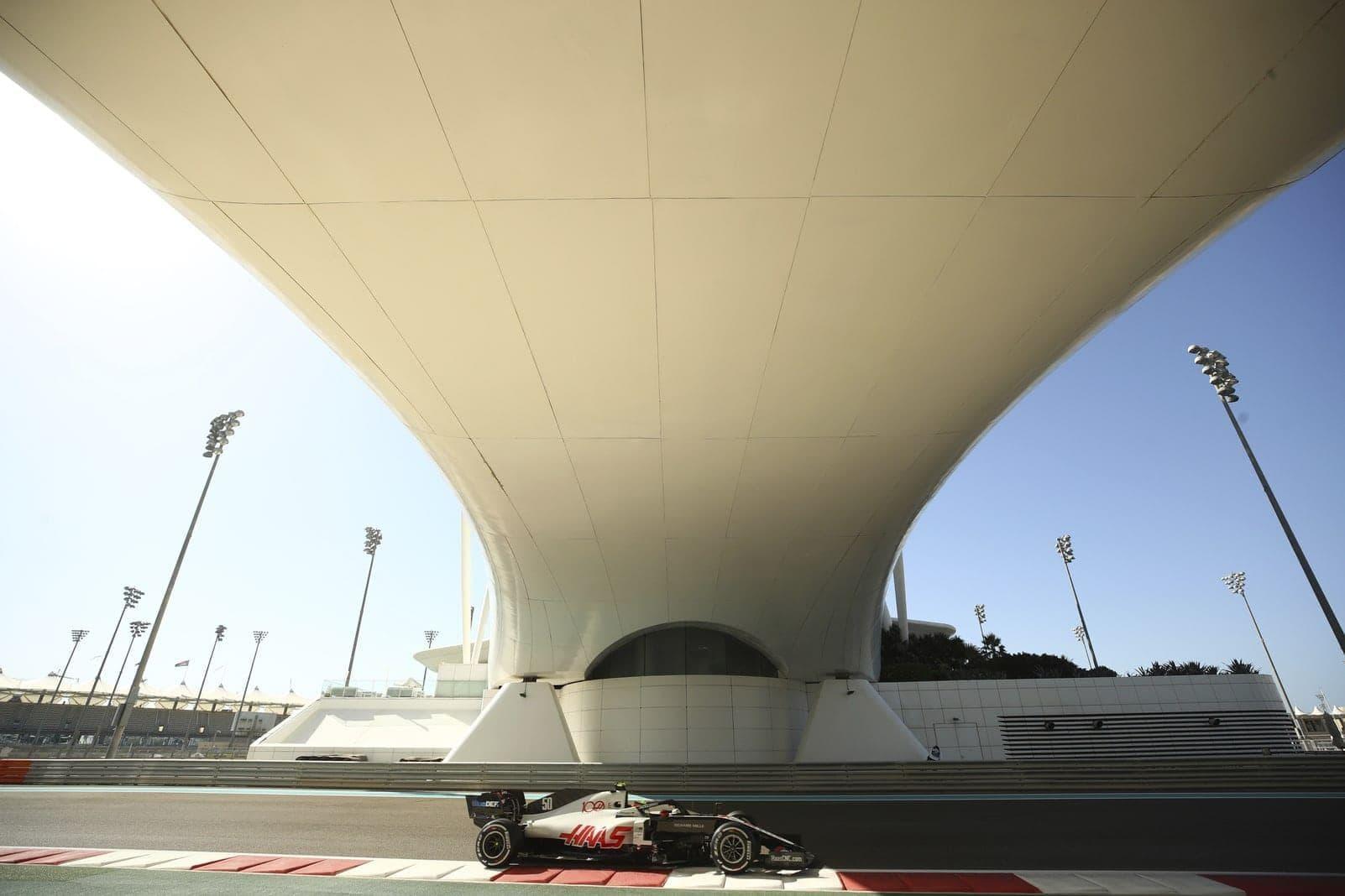 Mick Schumacher Formel 1-Debüt Haas Abu Dhabi 7